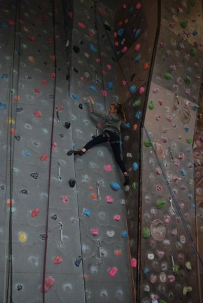 GCSE PE Climbing