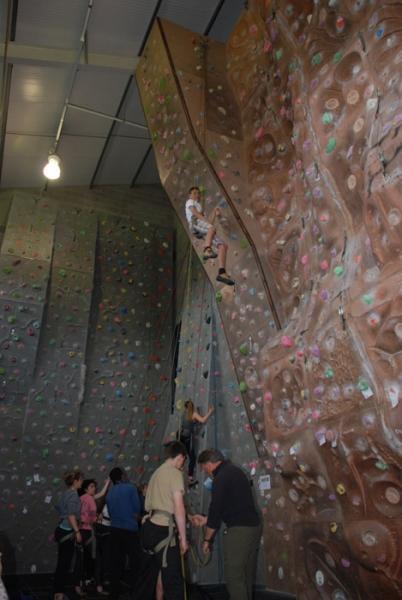 GCSE PE Climbing Indoors