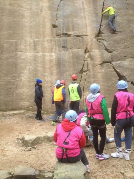 GCSE PE Climbing in the Peak District