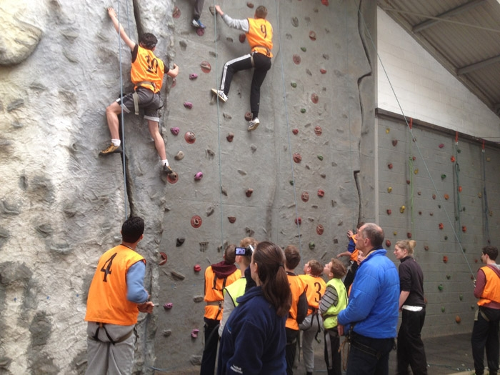 GCSE PE Climbing in Sussex