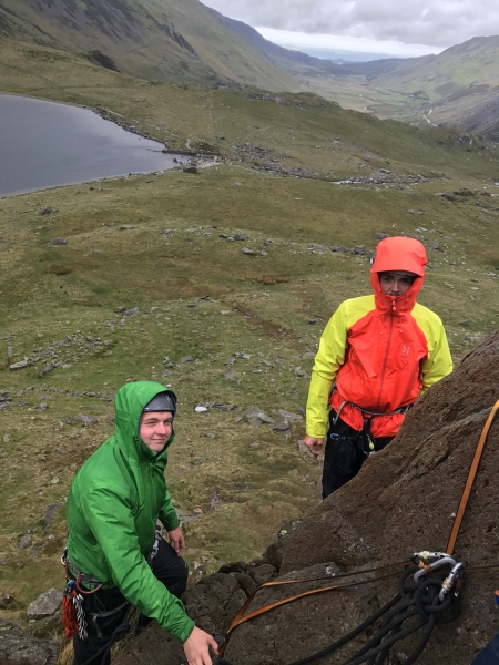 Learning setups in the Ogwen Valley