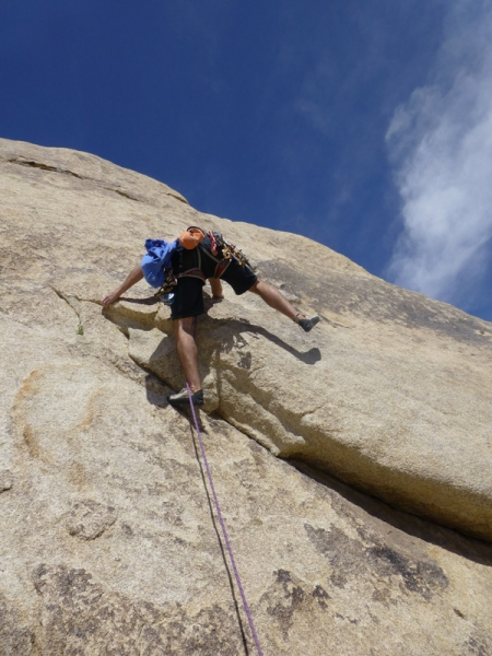 Staff trip - climbing in Joshua Tree, California