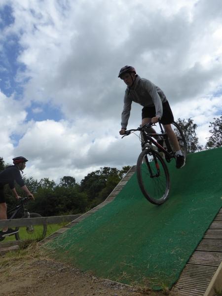 Biking Skills area at Deers Leap