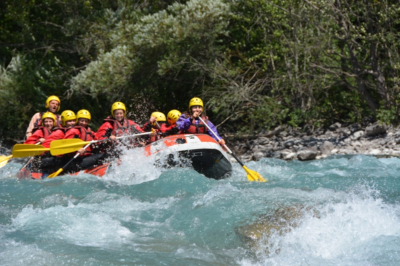 Rafting the Durance