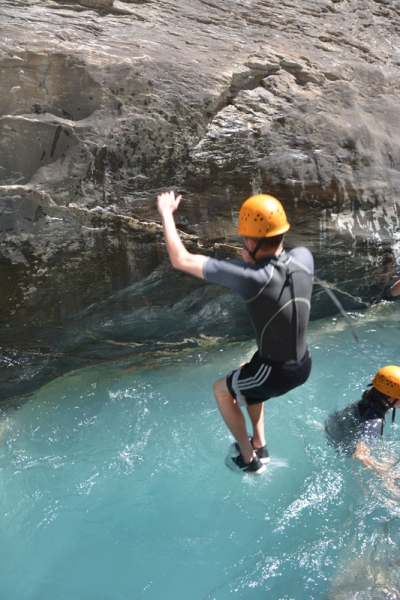 Canyoning in the Alps - The Couleau