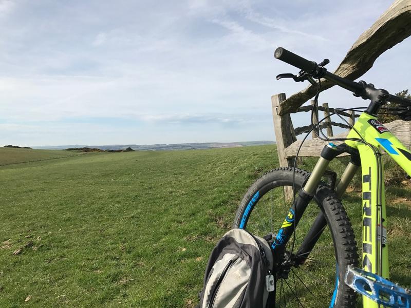 Mountain biking on the South Downs