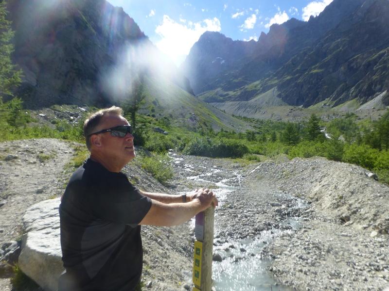 Bruce in the Alps