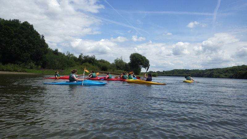 Kayaking in Sussex