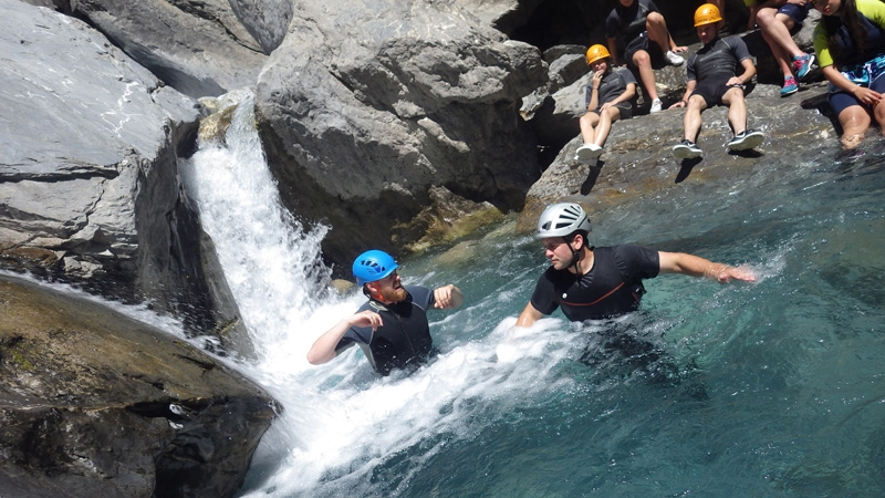 Canyoning - the Couleau