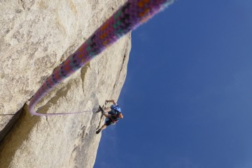 TrekCo staff climbing trip at Joshua Tree