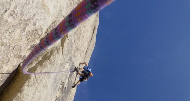 TrekCo staff climbing trip at Joshua Tree
