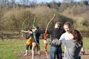 Archery with TrekCo in Sussex