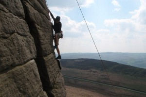 Trainees_Stanage_Climb
