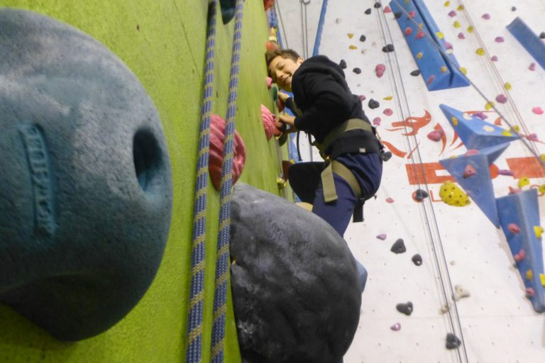GCSE PE Climbing with TrekCo