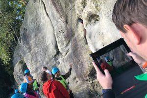 Video evidence for GCSE PE Rock Climbing