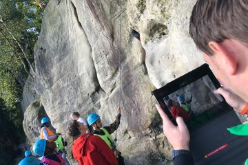 Video evidence for GCSE PE Rock Climbing