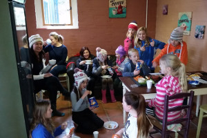 Party in Deers Leap Cafe