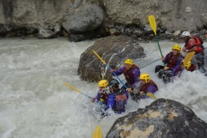 Rafting in the French Alps with TrekCo