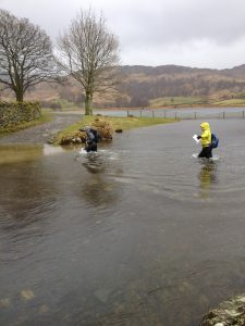 Trainee outdoor instructors in the Lake Distict