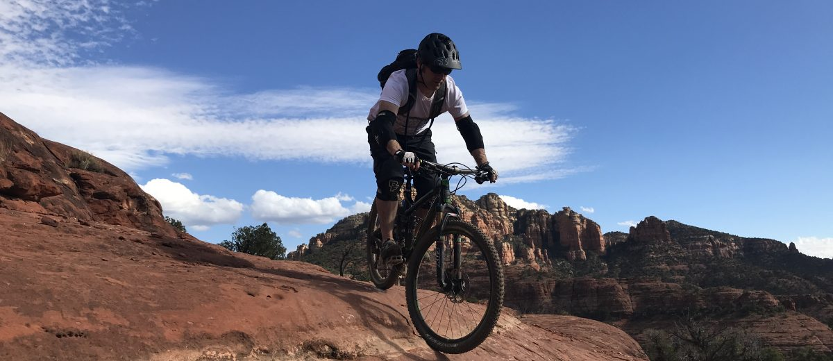 Biking in Sedona, Arizona