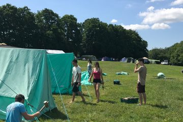 Camping residentials for schools in Sussex